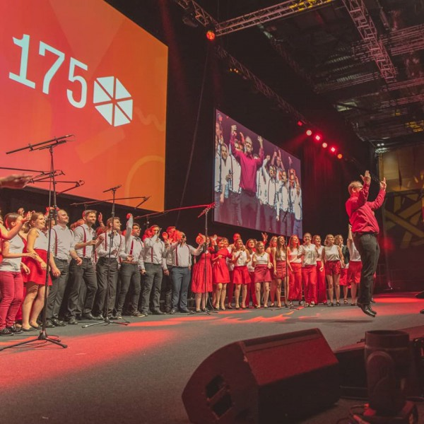 YMCA175 London - die Große Show // © Choriosity